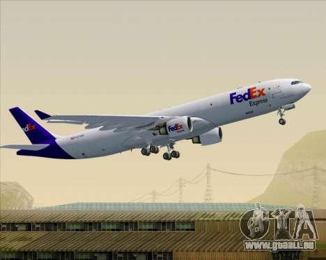 Airbus A330-300P2F Federal Express für GTA San Andreas Räder