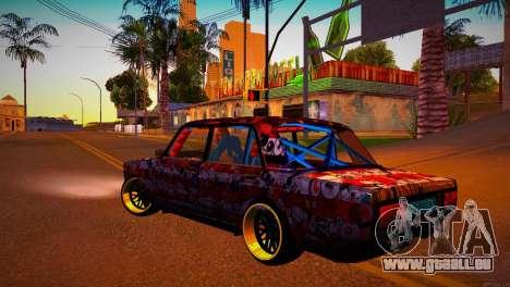 VAZ 2105 Dérive pour GTA San Andreas laissé vue