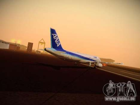 Airbus A320-211 All Nippon Airways für GTA San Andreas Motor