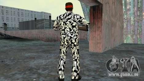Camo Skin 05 pour le quatrième écran GTA Vice City