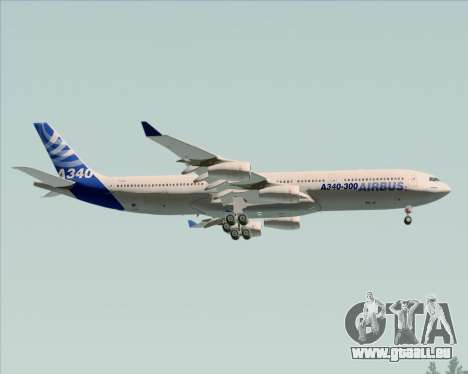 Airbus A340-311 House Colors für GTA San Andreas Räder