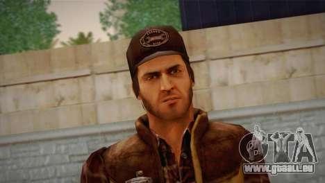 Travis Grady From Silent Hill: Origins für GTA San Andreas dritten Screenshot