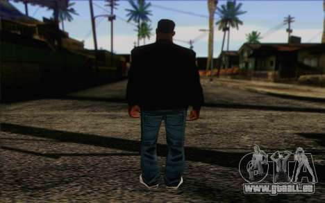 N.W.A Skin 2 pour GTA San Andreas deuxième écran