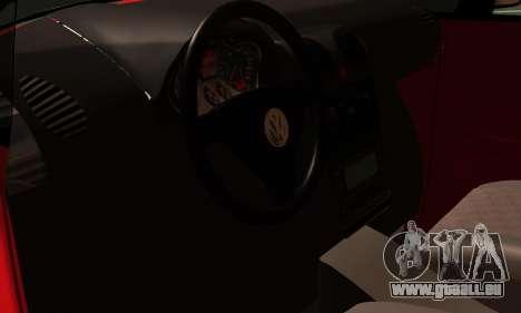 Volkswagen Caddy pour GTA San Andreas vue arrière