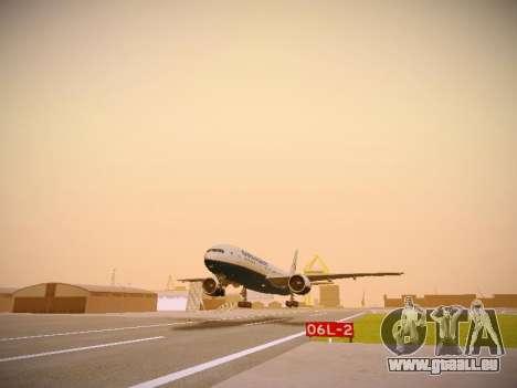 Boeing 777-2Q8ER Orenair Airlines pour GTA San Andreas laissé vue