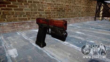 Pistolet Glock 20 bacon pour GTA 4