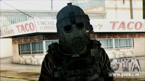 Les soldats aéroportés (CoD: MW2) v2 pour GTA San Andreas troisième écran