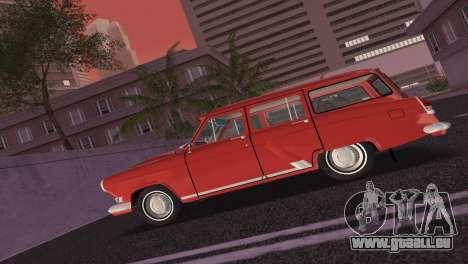 De GAZ à 22 Volga 1965 pour GTA Vice City vue arrière