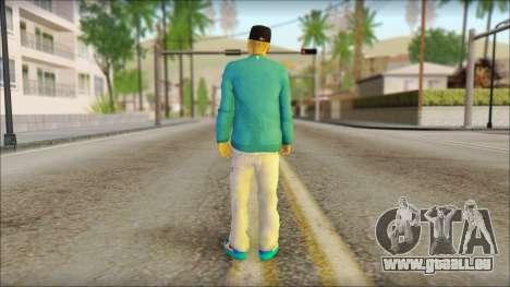 Superstar pour GTA San Andreas deuxième écran