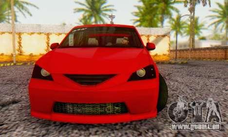 Dacia Logan B-61 für GTA San Andreas linke Ansicht