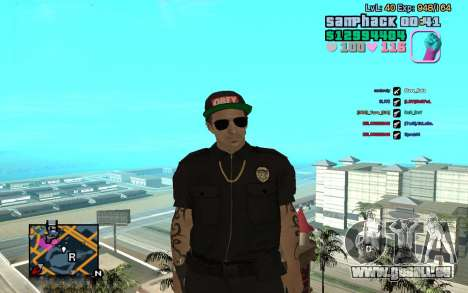 C-HUD GTA Vice City edited SampHack pour GTA San Andreas