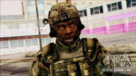 Kämpfer (PLA) v6 für GTA San Andreas dritten Screenshot