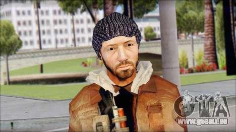 Division Skin pour GTA San Andreas troisième écran