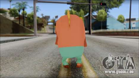 Boranfish from Sponge Bob für GTA San Andreas zweiten Screenshot