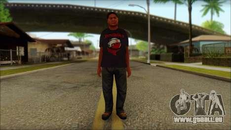 GTA 5 Ped 19 pour GTA San Andreas