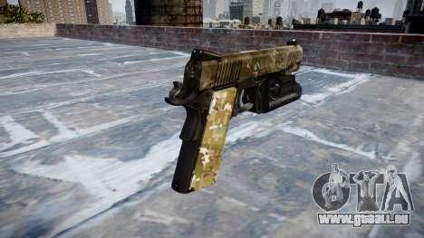 Pistolet Kimber 1911 DEVGRU pour GTA 4 secondes d'écran