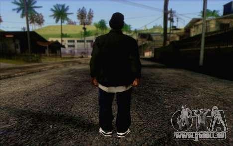 N.W.A Skin 3 pour GTA San Andreas deuxième écran