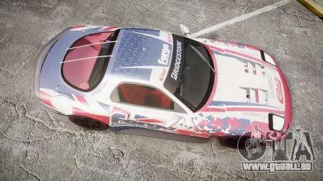 Mazda RX-7 Forge Motorsport für GTA 4 rechte Ansicht