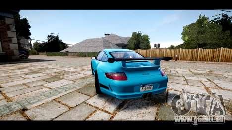 Porsche 911 GT3 RS pour GTA 4 Vue arrière de la gauche
