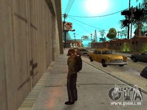 Noir sac à dos de Stalker pour GTA San Andreas