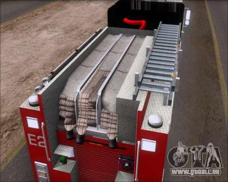 Pierce Arrow XT TFD Engine 2 für GTA San Andreas Innenansicht