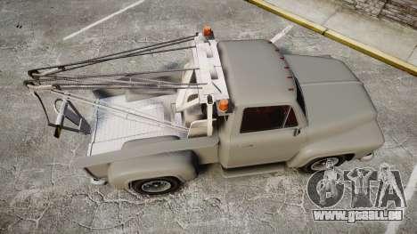 Vapid Tow Truck Jackrabbit für GTA 4 rechte Ansicht