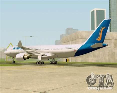 Airbus A330-200 Syphax Airlines pour GTA San Andreas vue de droite