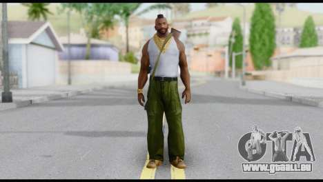 MR T Skin v6 für GTA San Andreas
