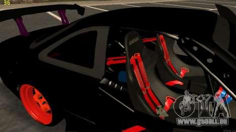 Nissan Silvia S14 für GTA San Andreas Unteransicht