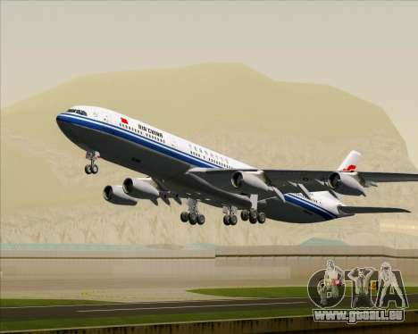 Airbus A340-313 Air China pour GTA San Andreas roue