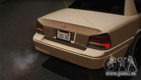 Vapid Stanier II (IVF) pour GTA San Andreas vue arrière