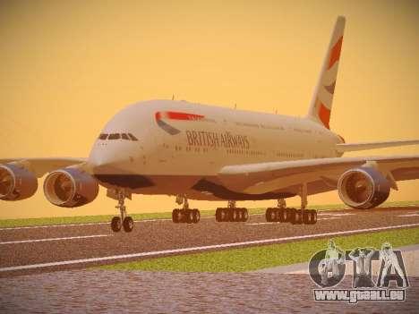 Airbus A380-800 British Airways pour GTA San Andreas