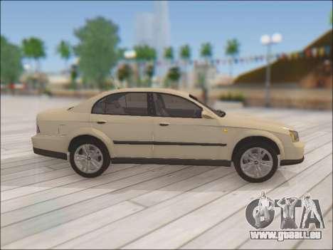 Chevrolet Evanda pour GTA San Andreas vue intérieure