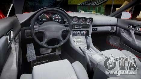 Mitsubishi 3000GT Tuner für GTA 4 Rückansicht