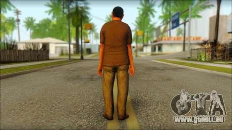 GTA 5 Ped 19 pour GTA San Andreas deuxième écran