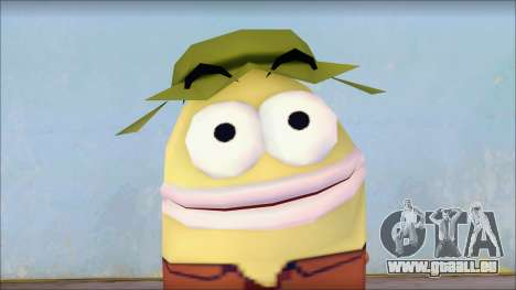 Campguy from Sponge Bob für GTA San Andreas dritten Screenshot