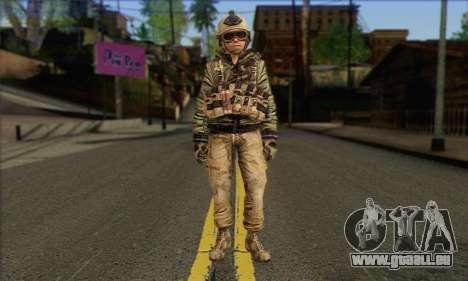 Task Force 141 (CoD: MW 2) Skin 17 für GTA San Andreas