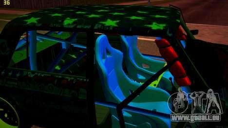 VAZ 2105 Drift für GTA San Andreas Rückansicht