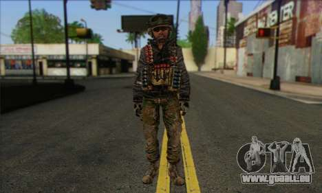 Task Force 141 (CoD: MW 2) Skin 10 pour GTA San Andreas