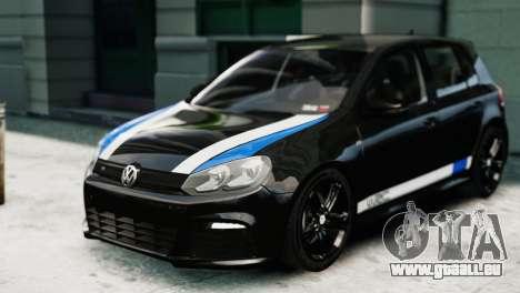 Volkswagen Golf R 2010 Polo WRC Style PJ1 pour GTA 4