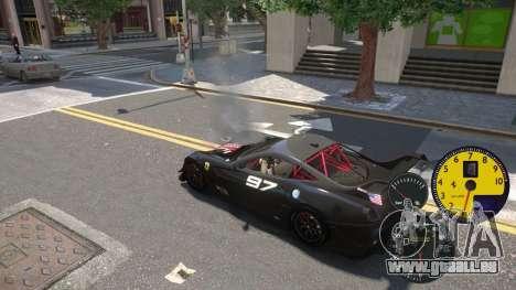 Les Capteurs De La Machine pour GTA 4 secondes d'écran