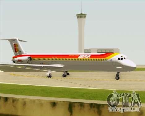 McDonnell Douglas MD-82 Iberia pour GTA San Andreas roue