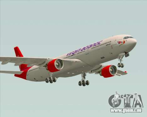 Airbus A330-300 Virgin Atlantic Airways für GTA San Andreas Seitenansicht
