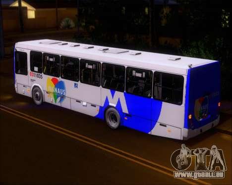 Marcopolo Torino 2007 Volksbus 17-230 EOD für GTA San Andreas Innenansicht