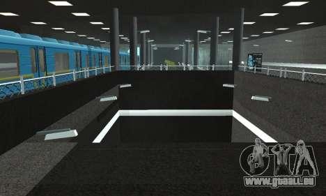 Eine neue U-Bahn-station in San Fierro für GTA San Andreas achten Screenshot