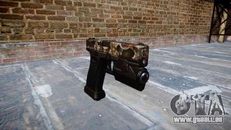 Pistole Glock 20 zombies für GTA 4