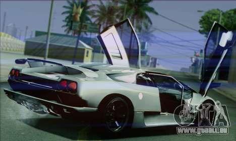 Lamborghini Diablo SV 1997 pour GTA San Andreas vue de droite