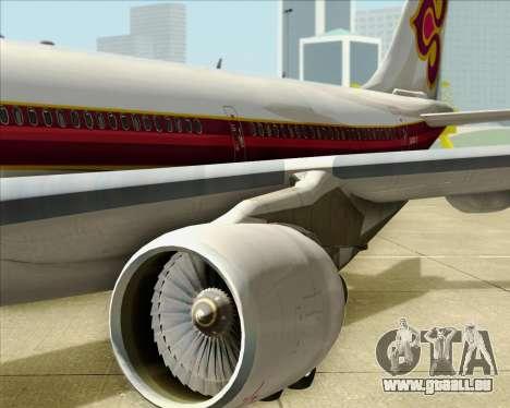 Airbus A330-300 Thai Airways International für GTA San Andreas Seitenansicht