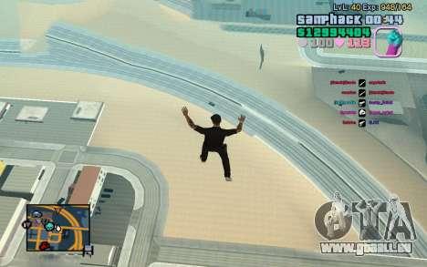 C-HUD GTA Vice City edited SampHack pour GTA San Andreas troisième écran