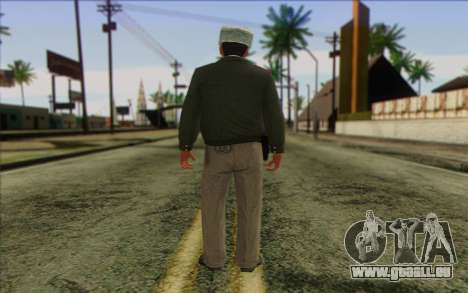 Polizei Russland Haut 3 für GTA San Andreas zweiten Screenshot